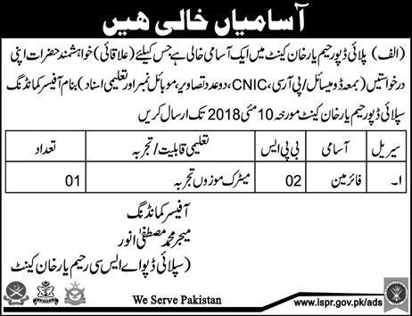 fireman-jobs-in-rahim-yar-khan-newpakjobs