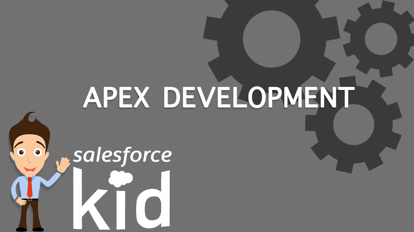 salesforce apex development