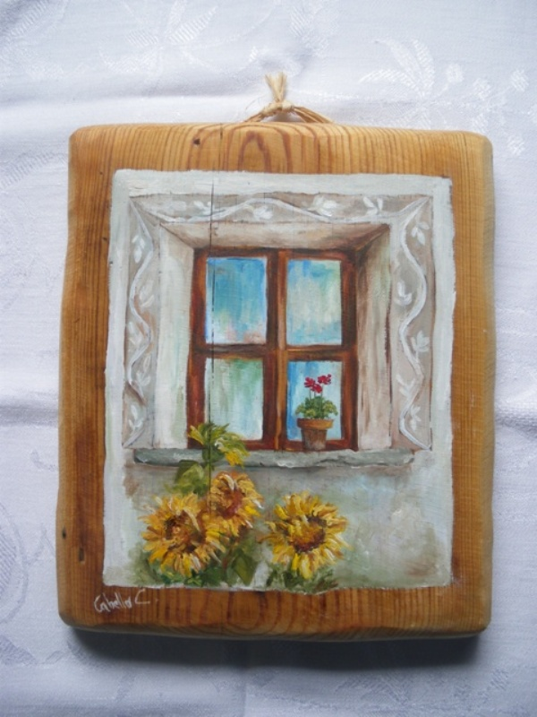 Amato Dipinti su legno e su pietra: 2012 DC79