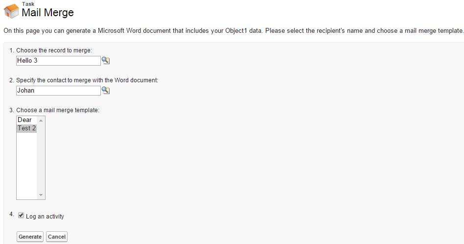 SimplySfdc com: Salesforce: Mail Merge