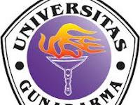 PENERIMAAN CALON MAHASISWA BARU (UNIV GUNADARMA/ UG) 2017-2018 UNIVERSITAS GUNADARMA