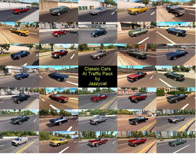 ats classic cars ai traffic pack v2.8 screenshots 2