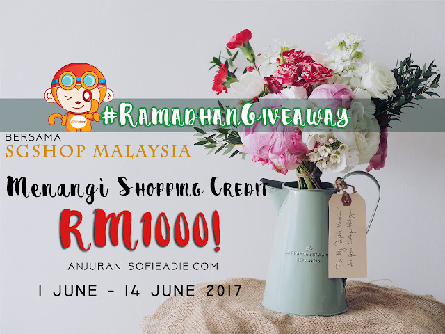 #RAMADHANGIVEAWAY bersama SGShop Malaysia