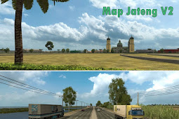 Free Download Mod Map Jawa Tengah V2 for Euro Truck Simulator 2 (ETS2) on Computer or Laptop