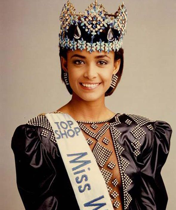 Miss World Of 1986 – Giselle Laronde