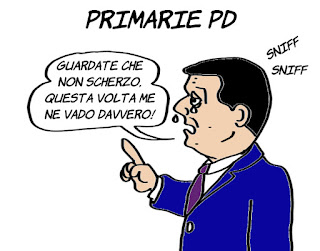 renzi, Primarie PD, promesse, vignetta, satira