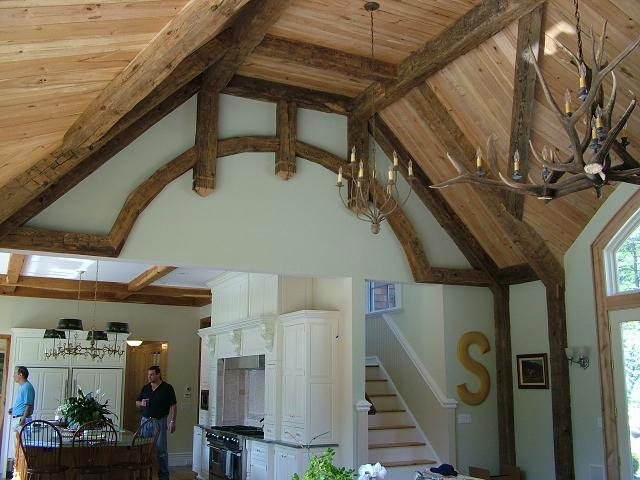 Reclaimed Barn Beams Wide Plank Flooring Rustic Mantles