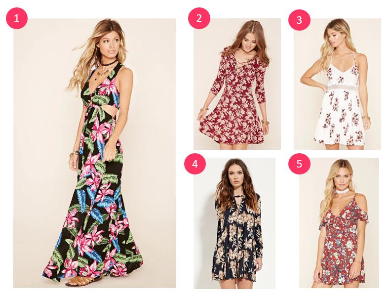 floral dresses under $30