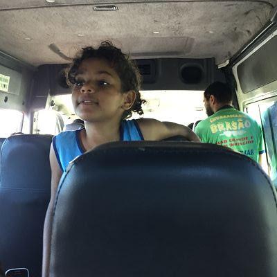 Itaparica. Brasil. Bus