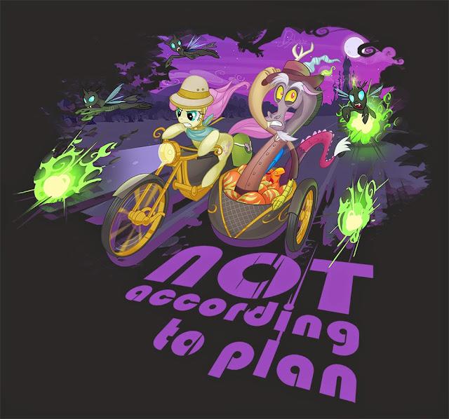Not according to plan...
