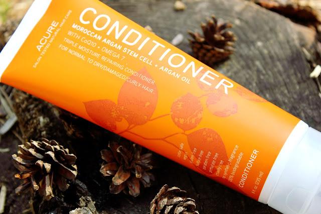 Отзыв: Органический кондиционер для волос с аргановым маслом и стволовыми клетками марокканской аргании - Acure Organics Conditioner.