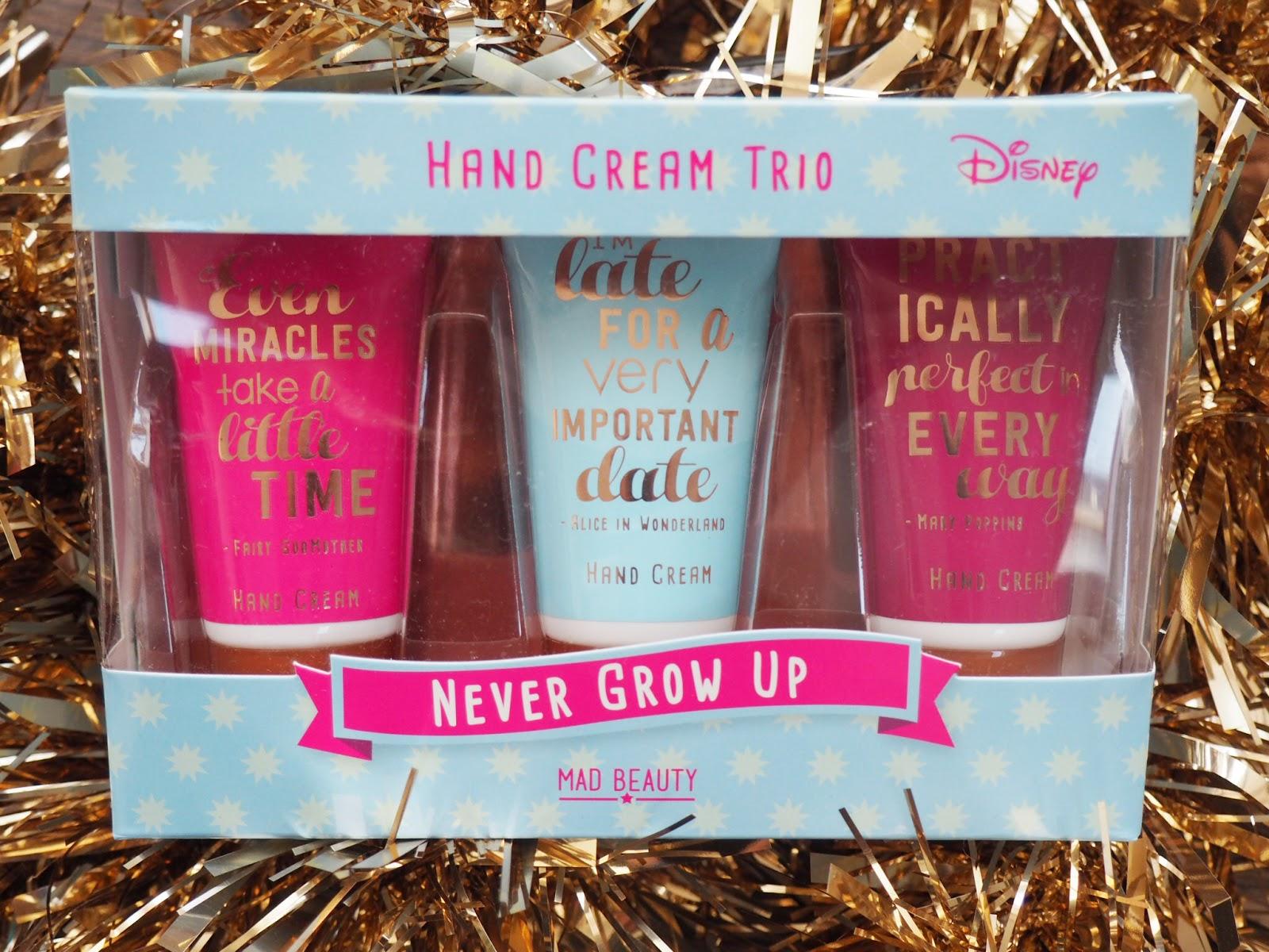 Mad Beauty - Never Too Old Disney hand cream trio