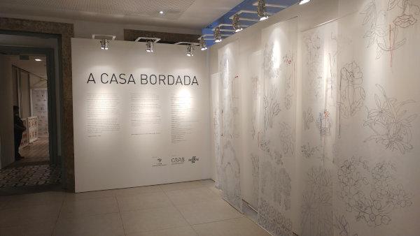 Exposição A Casa Bordada no CRAB Sebrae RJ