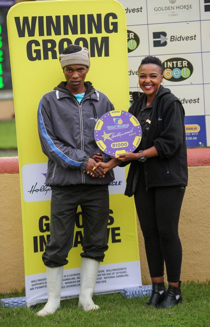 Grooms Initiative Winner - 22nd December 2019 - Race 4 - Sikelele Maqelana - TOM BOMBADIL