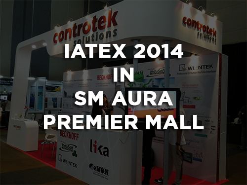 IATEX 2014 in SM Aura Premier Mall