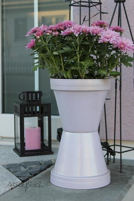 pflanzens ule aus tont pfen nordahage. Black Bedroom Furniture Sets. Home Design Ideas