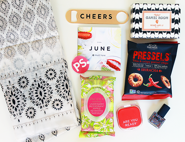 PopSugar June Must-Have Box