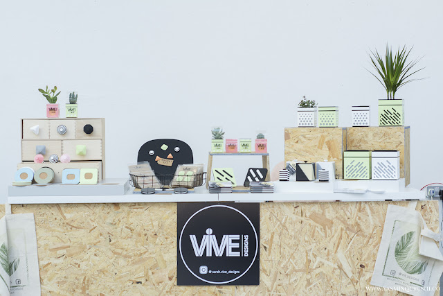 Vive Designs at the Paperdolls Handmade event. Photography by Yasmin Qureshi