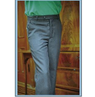 patrón gratis pantalón de hombre
