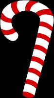 Bengala de Natal - autoria Stella