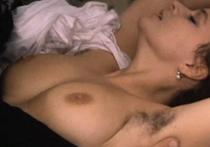 Naked women touching penis