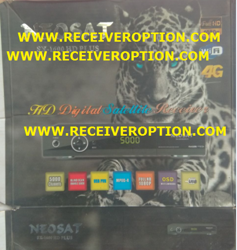 NEOSAT SX-1600 HD PLUS RECEIVER AUTO ROLL NEW SOFTWARE
