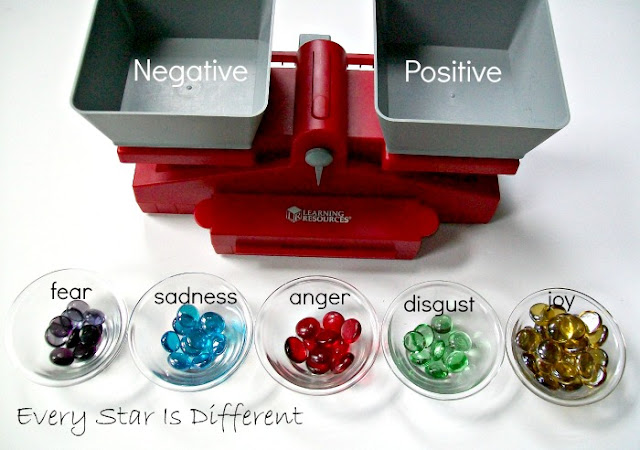 Labeled emotions beads