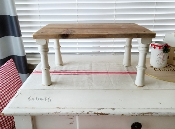 small farmhouse bench