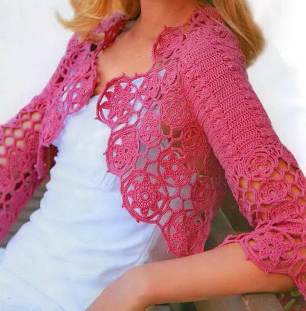 Crochet Bolero / Bolero Jacket
