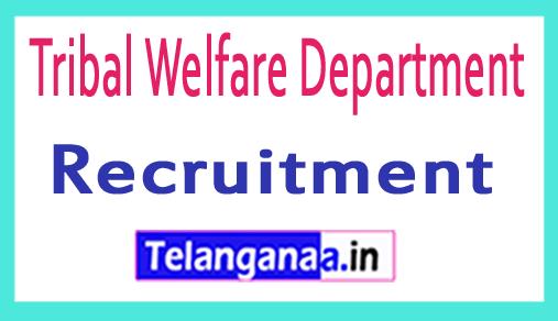 Tribal Welfare Department TWD Recruitment