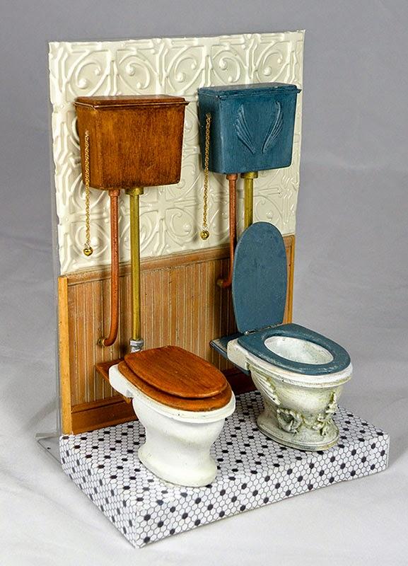 Butcher Block Workbench >> Good Sam Showcase of Miniatures: Dealer Ken Byers, Shaker ...