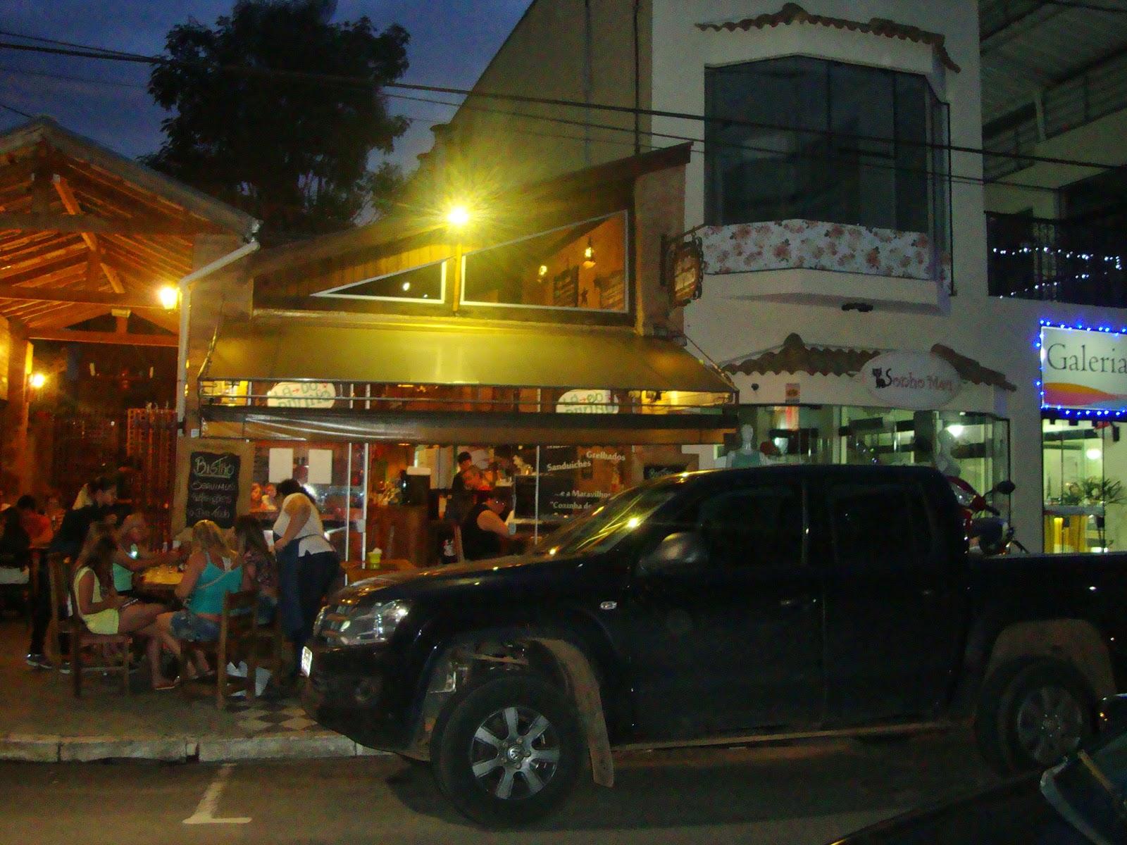 Noite em Águas de São Pedro