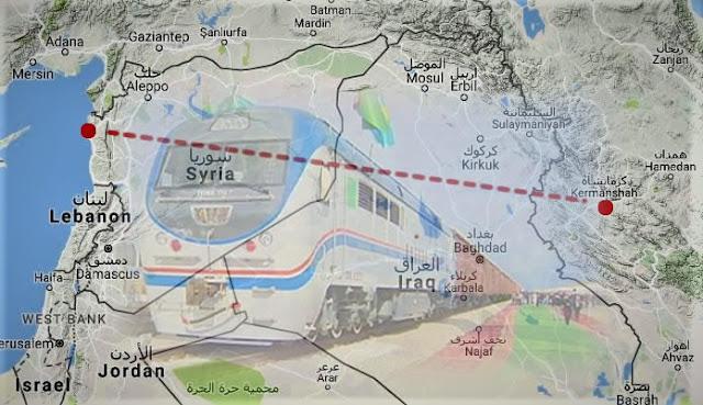 iran in kurdistan uzerinden akdeniz e demiryolu hatti projesi