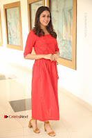 Actress Lavanya Tripathi Latest Pos in Red Dress at Radha Movie Success Meet .COM 0043.JPG
