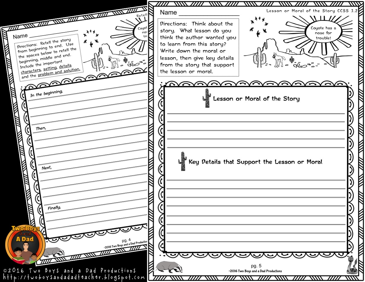 literature standards support pages