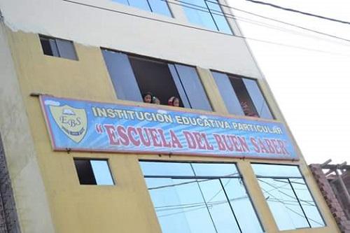 ESCUELA DEL BUEN SABER - San Martin de Porres