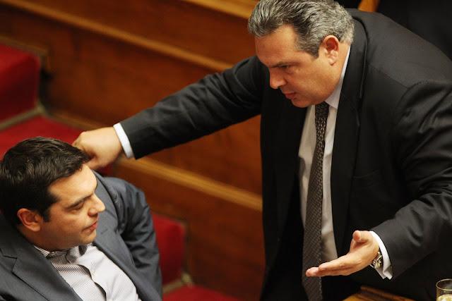 ΣΥΡΙΖΑ - ΑΝΕΛ: Η φυσιολογική κατάληξη μιας παρά φύση σχέσης