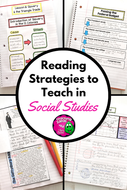 Reading Strategies to Teach in Social Studies