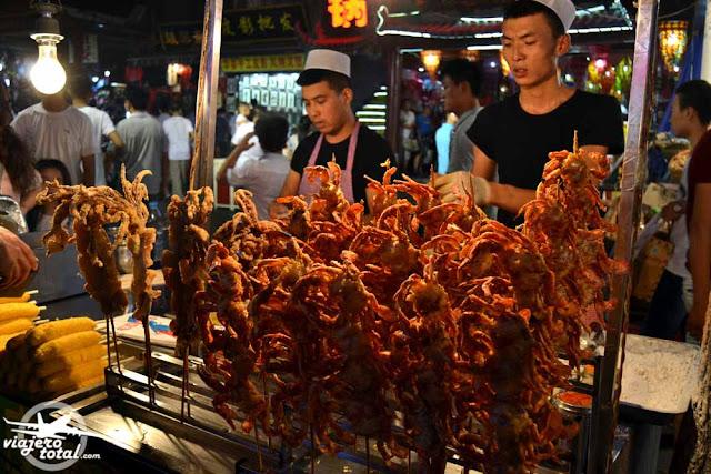 Xian - Barrio Musulman - Muslim Quarter