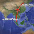 Malayia Airlines plane crashed in the South China Sea with 227 passengers