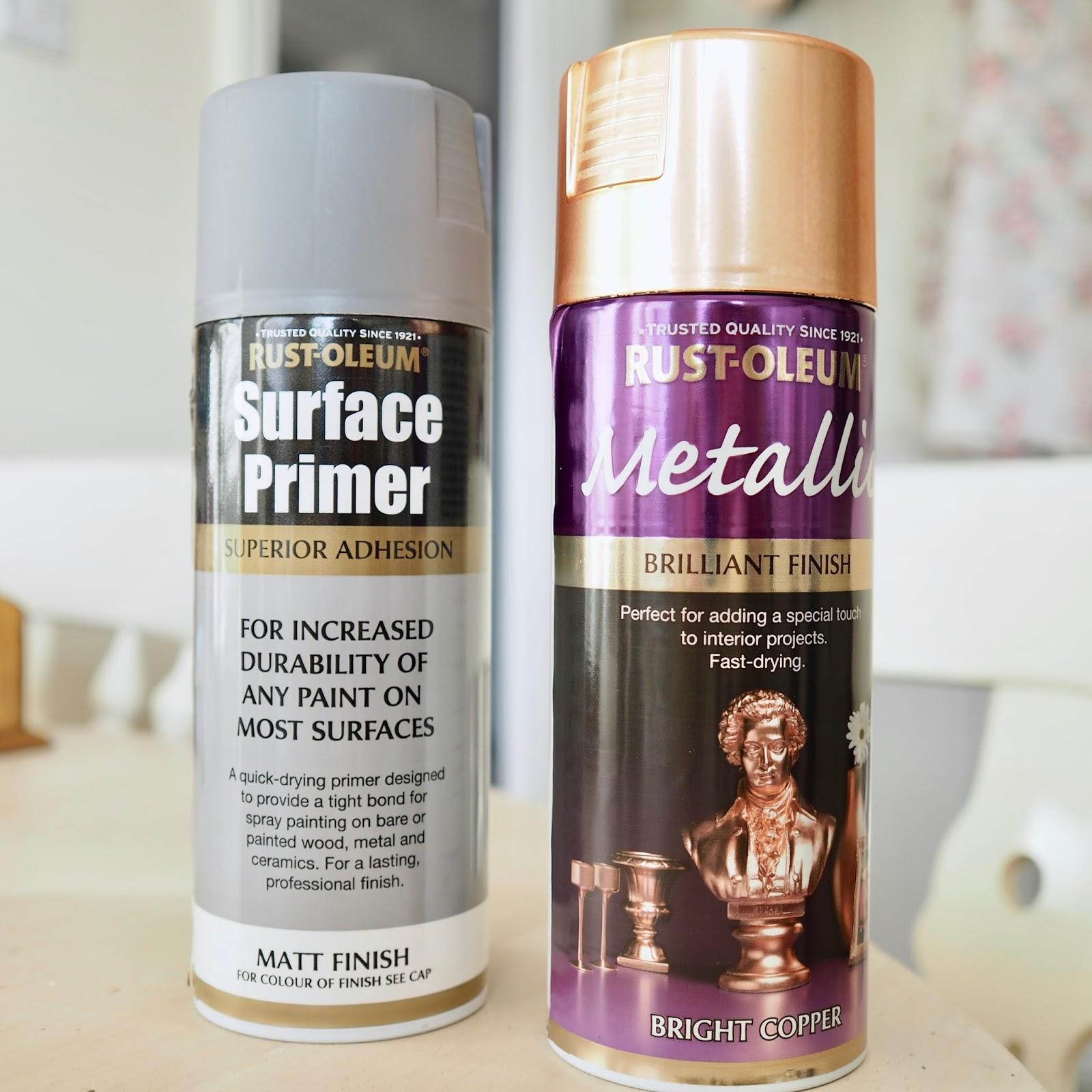Video: Spray paint DIY using Rustoleum metallic spray paint