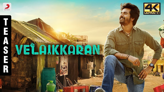 Velaikkaran Movie Official Teaser