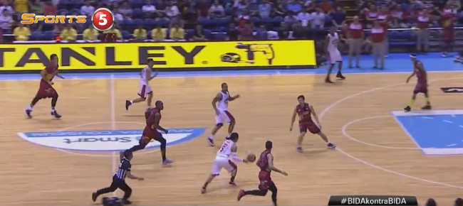 LA Tenorio's NASTY Behind-the-back Fake And Layup (VIDEO)