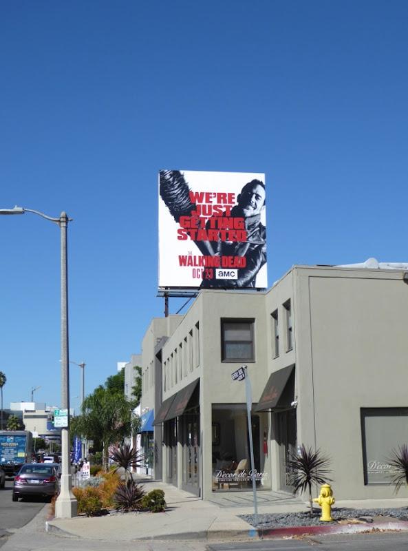 Walking Dead season 7 billboard