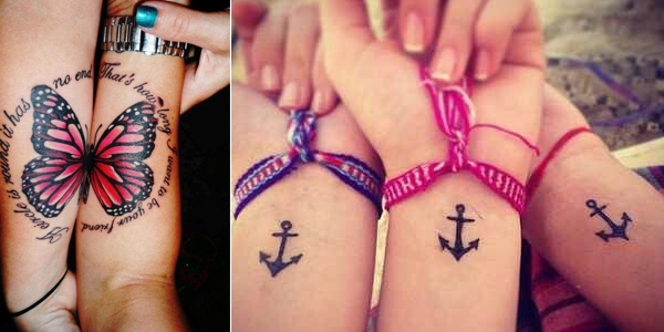 Mytattooland Best Friends Tattoo Designs