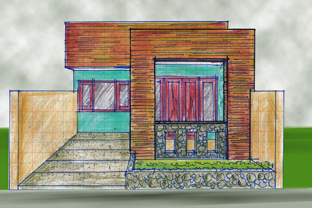 view of house plan A-11