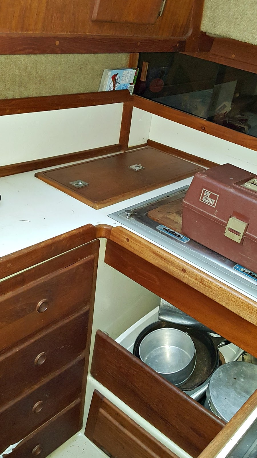 Sailboat Interior Photos