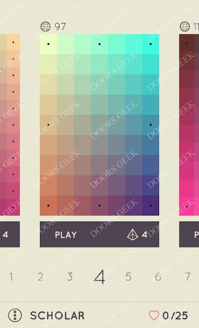I Love Hue Scholar Level 4 Solution, Cheats, Walkthrough