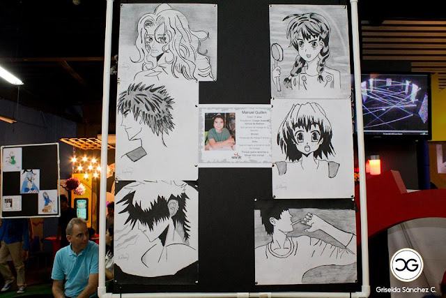 Exposición de dibujos