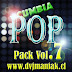 PACK V-REMIX VOL7  EDICION  CUMBIA POP